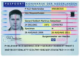 BSN op paspoort