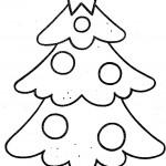 Knutselen met kerst: kerst kleurplaat 6