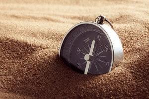 hoe werkt een kompas