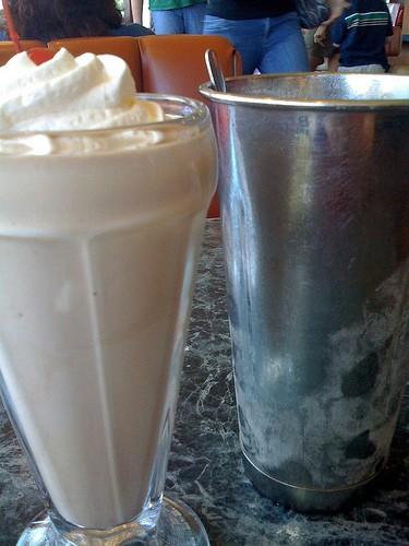 Milkshake maken