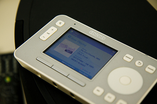 Sonos, brengt overal muziek