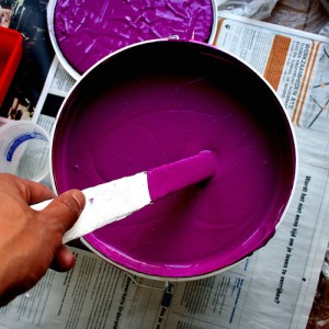 welke kleuren maken paars