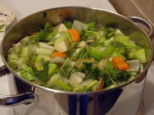 Ouderwetse groentesoep