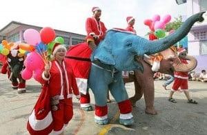 kerst thailand