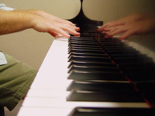 Zelf piano spelen: magisch!
