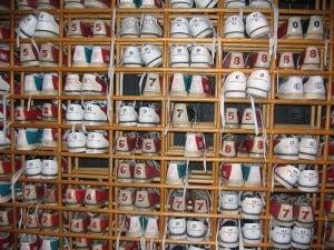 Schoenmaat opmeten